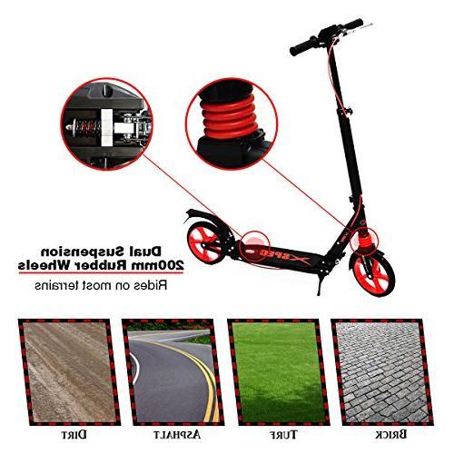 921 folding kick street scooter