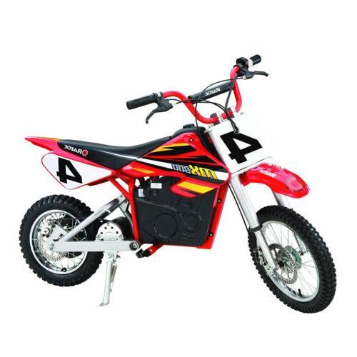 Razor MX500 Dirt Rocket Electric Motocross Bike