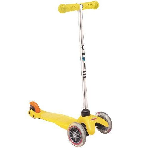 Yellow Mini Micro Kick Scooter