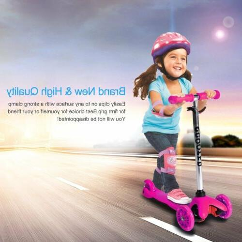 adjustable kids scooter deluxe for age 3