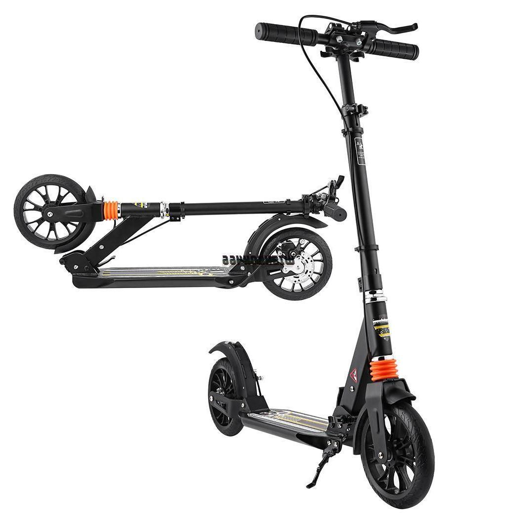 Adult Foldable Adjustable Scooter Rear