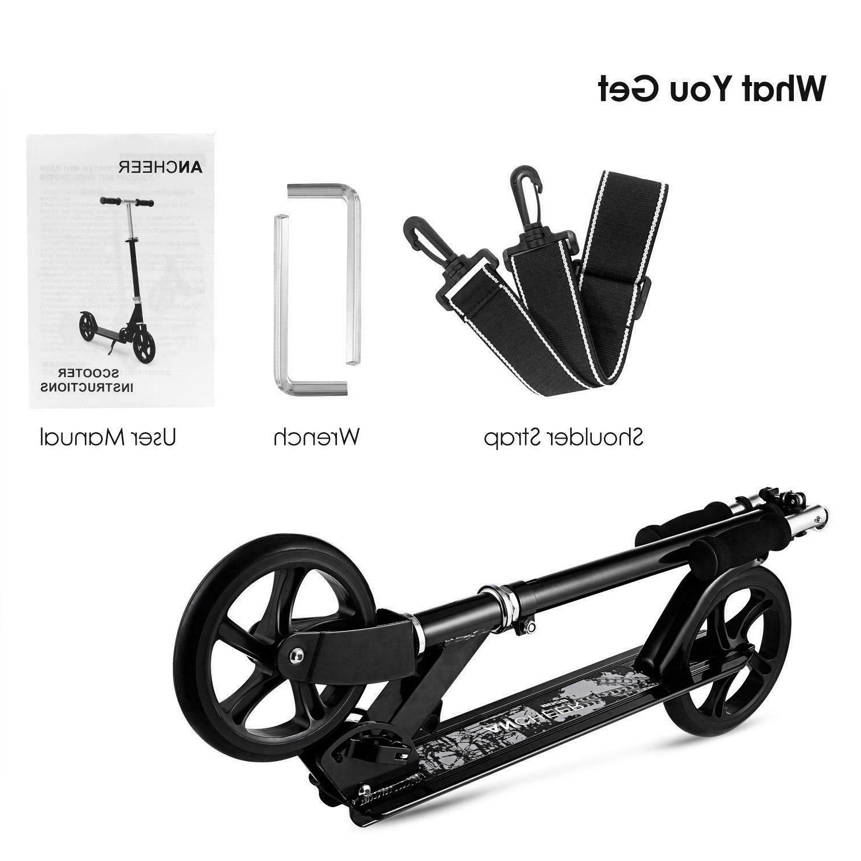 Adult Scooter Foldable 3 2 Brake