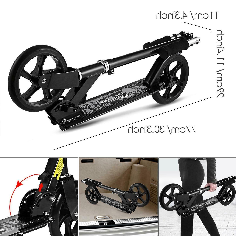 Adult Kick Scooter 3 2 Wheel Brake