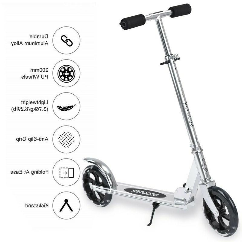 Adult/Kids Kick Stunt Ride Aluminum Ancheer