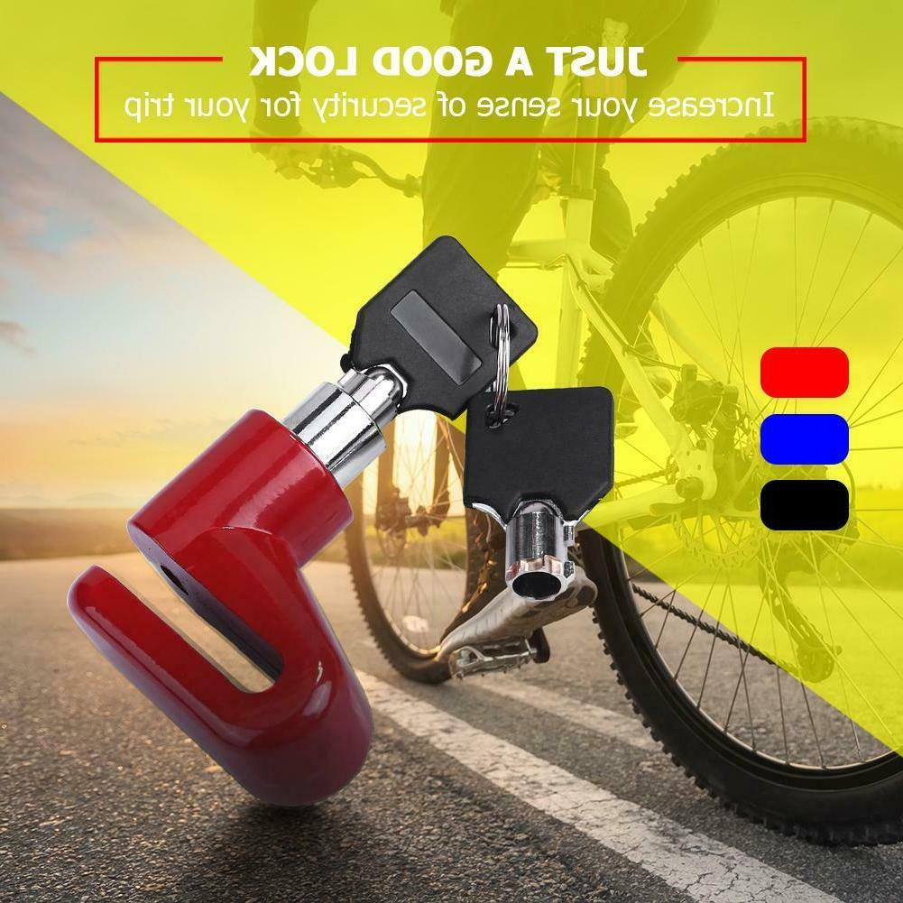 Anti-theft Wheel Lock Bicycle Scooter