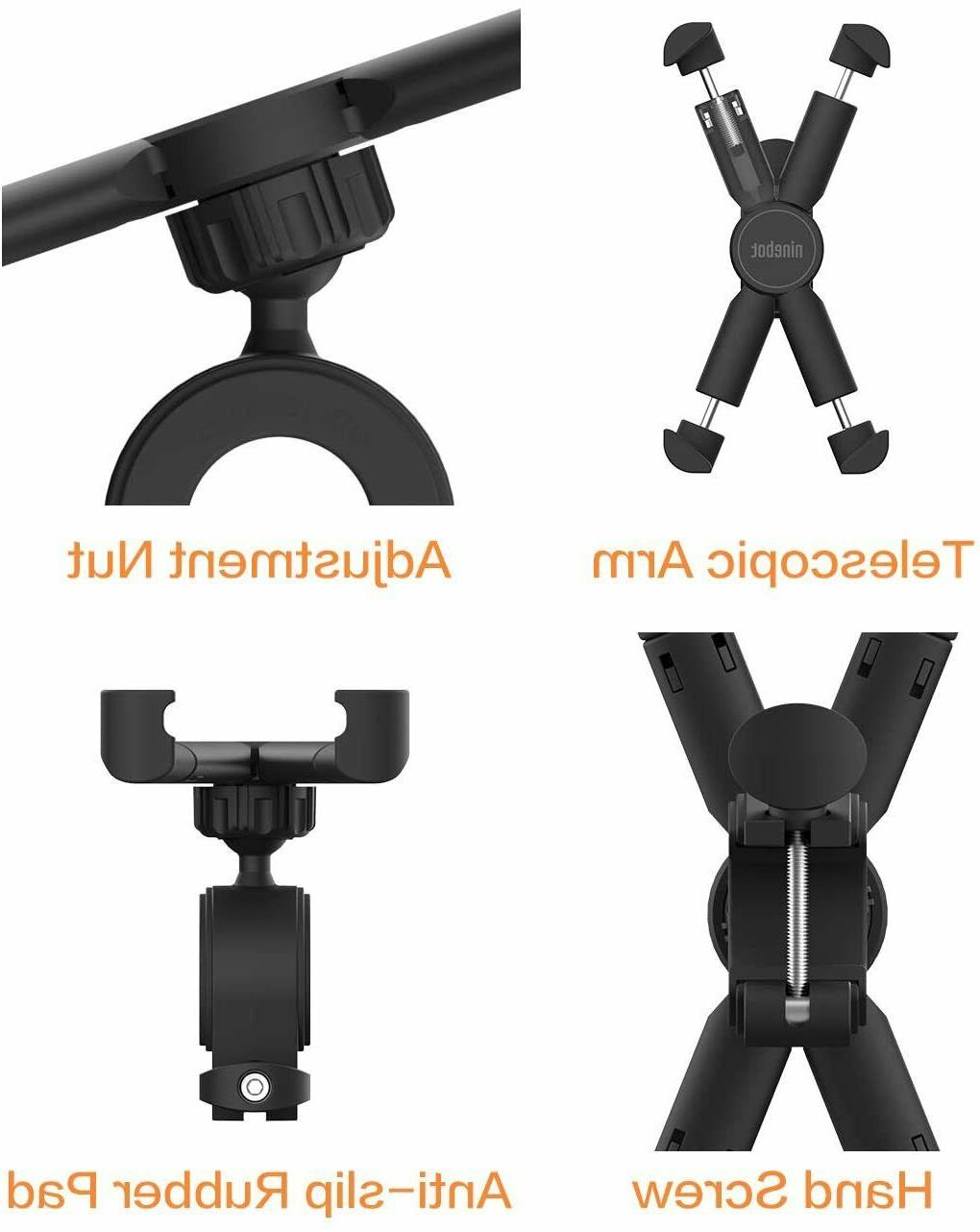 Black Phone Holder Ninebot KickScooter Segway