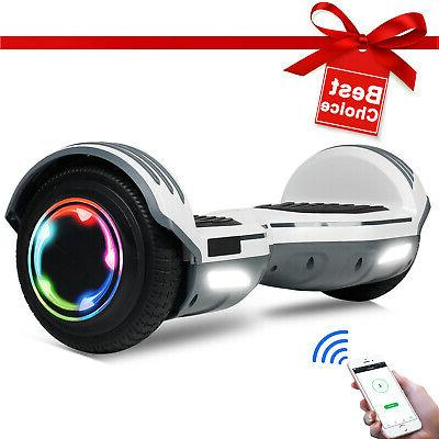 Bluetooth Hoverboard Balancing Scooter noBag Scooters Hoverkart