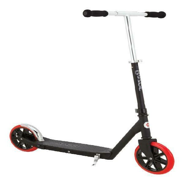 carbon lux special edition kick scooter black