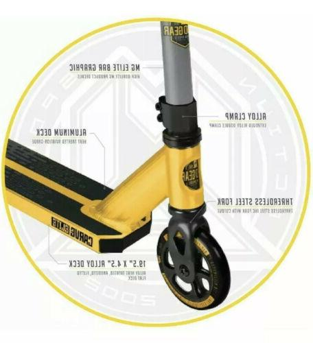 Madd CARVE Gold/Black– Scooter Ages 8+ up to