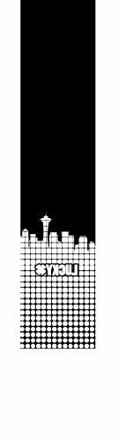 Lucky Scooter City Grid Grip Tape, White, 4.75 x 22-Inch