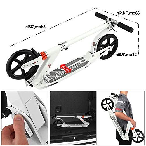 Hikole Commuter Adult Scooter Carrying Strap | Foldable | Scooter for Urban Riders and Kids