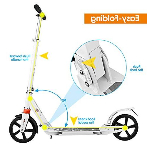 Hikole Scooter with | Foldable Portable | New Scooter Riders and Kids