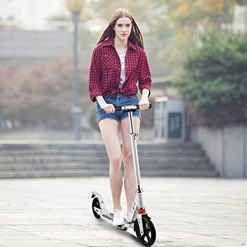 Hikole Kick Scooter Carrying | Portable | Aluminium Scooter for Urban and Kids