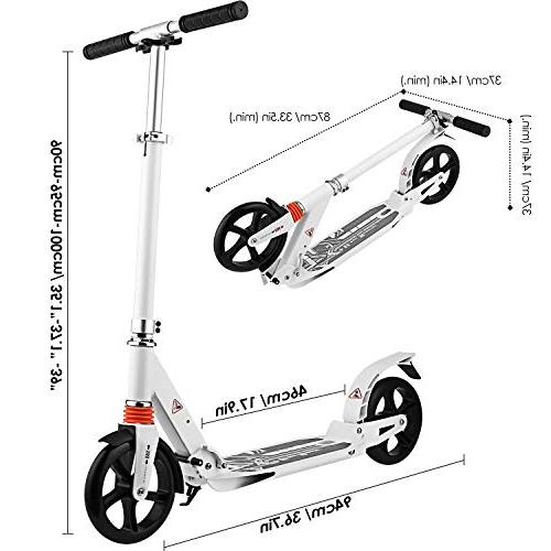 Hikole Scooter | Foldable Portable | Scooter for Urban and Kids Age 8Up