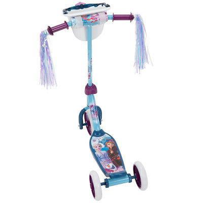Huffy Kids Toddler Preschool 3 Wheel Kick Scooter