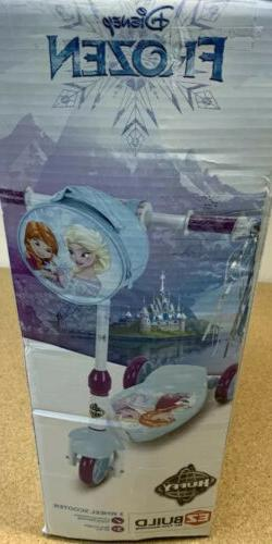 Disney Frozen 2 Scooter 3-Wheel Kick Girls Toddler Childs Pr
