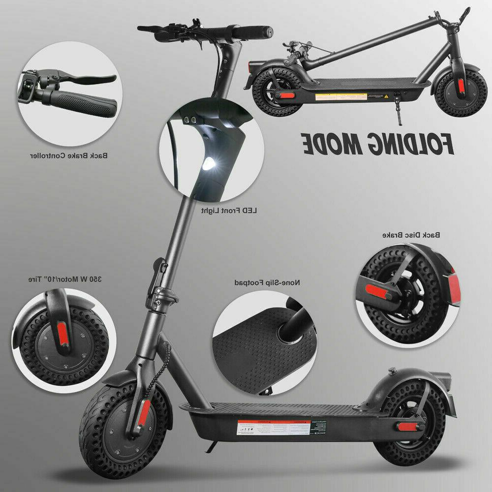 Electric Foldable Outdoor Commuting Scooter 350W