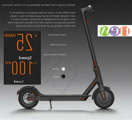 Electric Folding Scooter 18.6 Miles Up to 15.5 MPH Ultraligh