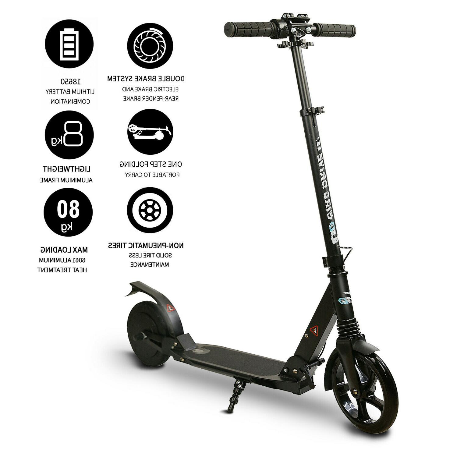 electric scooter for teens folding 8 tire