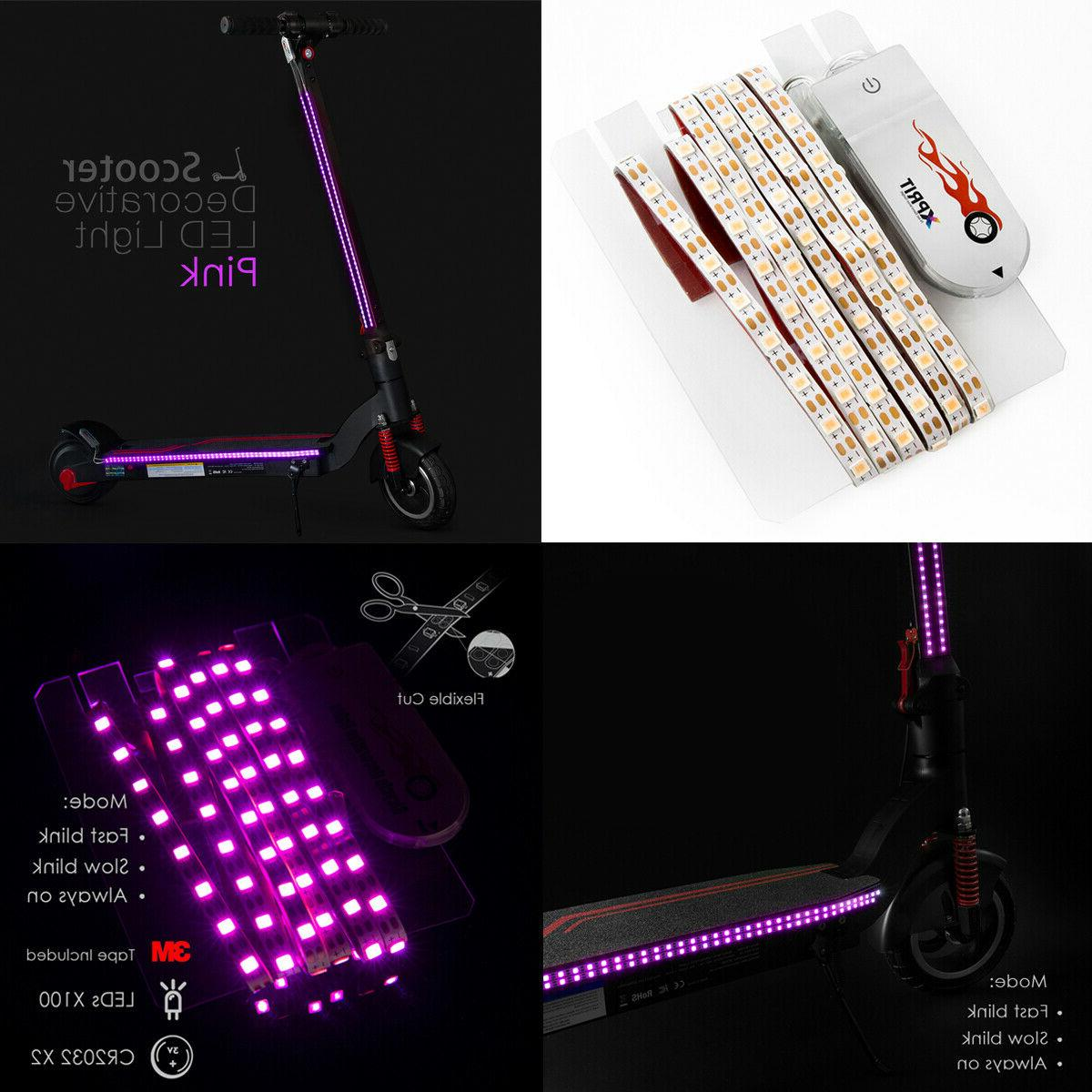electric scooter led flash lights