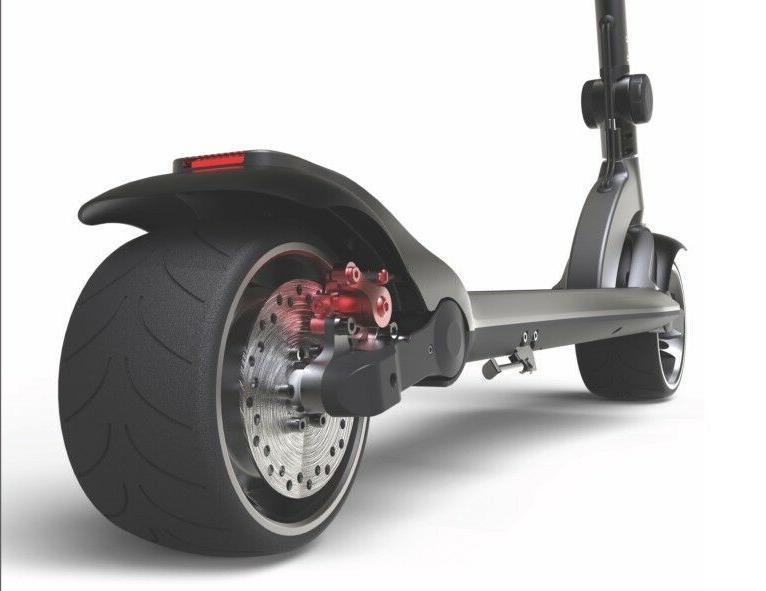 Electric Wheel Folding 1600W Kick E-Scooter Long
