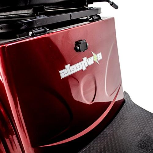 EWHEELS EW-36 Recreational Electric Mobility Scooter RED, Challenger Mobility