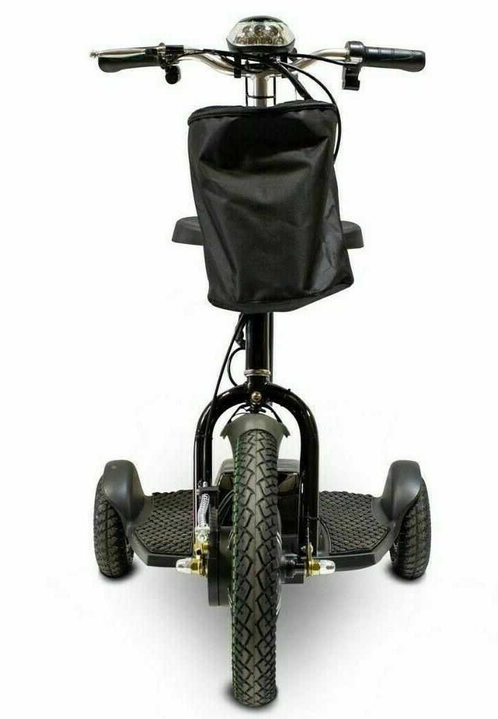 eWheels Wheel Sit or Stand Black 15mph