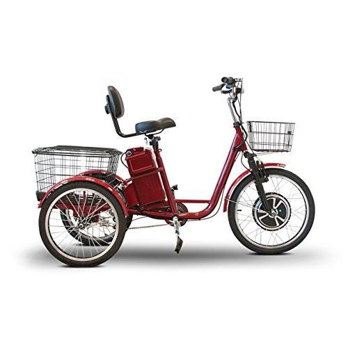 EWheels EW-29 Trike Scooter-Red