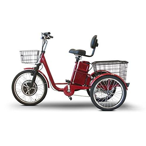 EWheels Electric Scooter-Red
