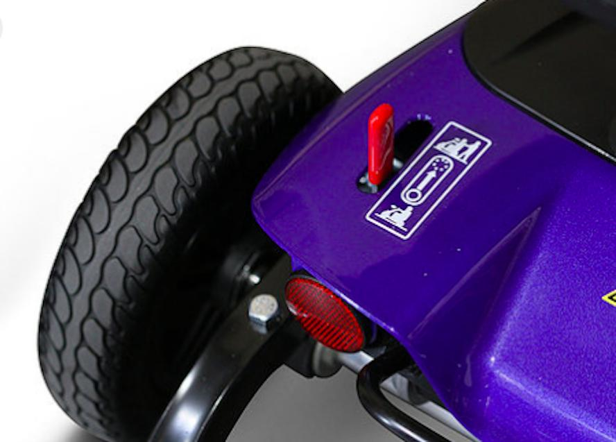 EWheels EW-M35 4 Wheel Mobility Scooter, Disassemble
