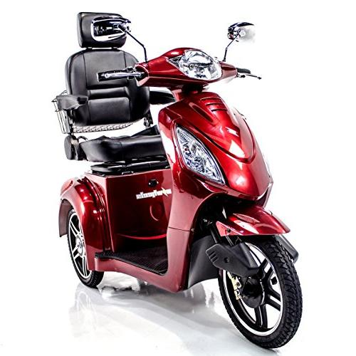 EWHEELS Recreational Electric Mobility Adults RED, Cover