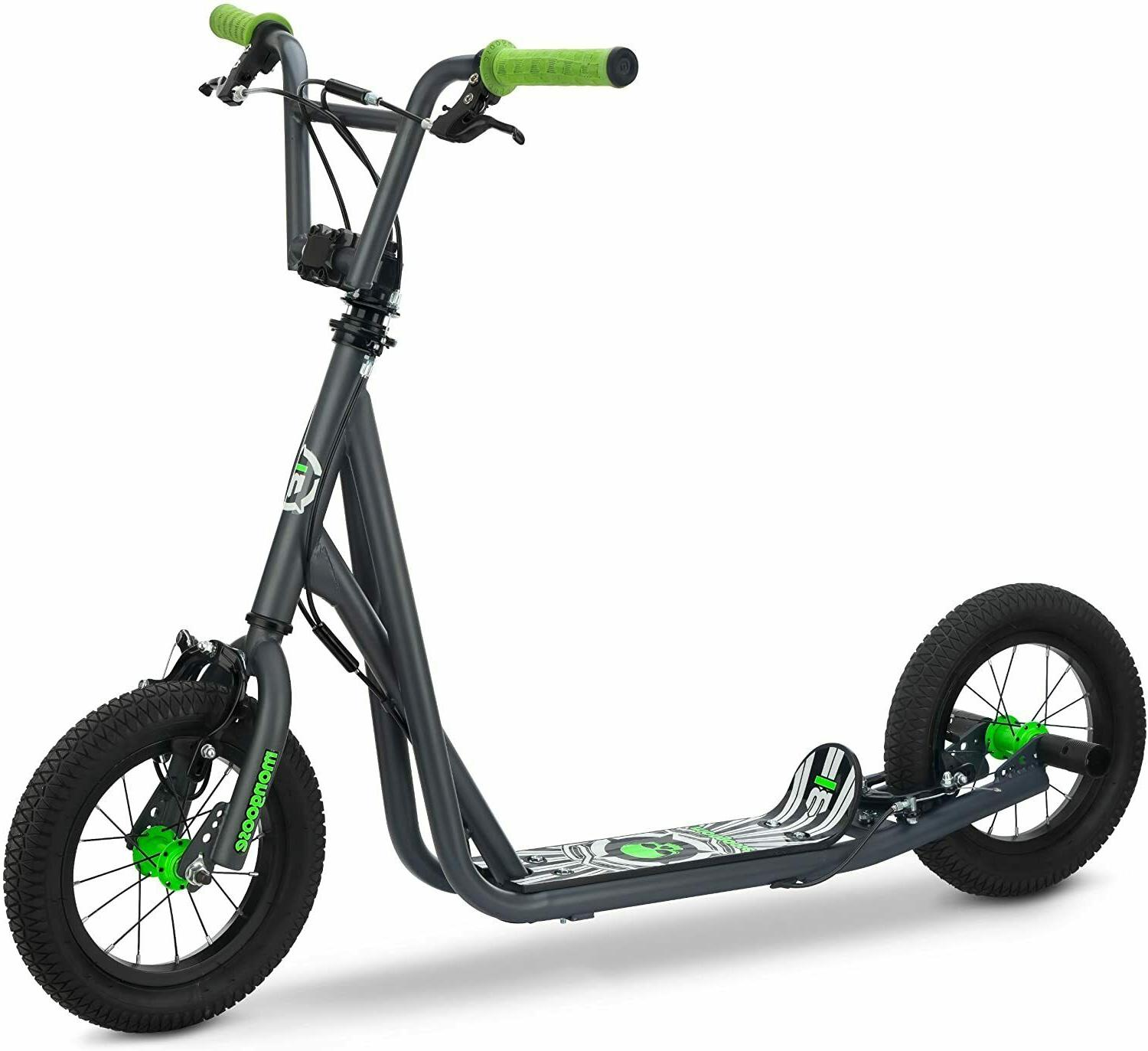 "Mongoose Kids Scooter Toy Toys 12"" Air Filled Tires Child Tr"