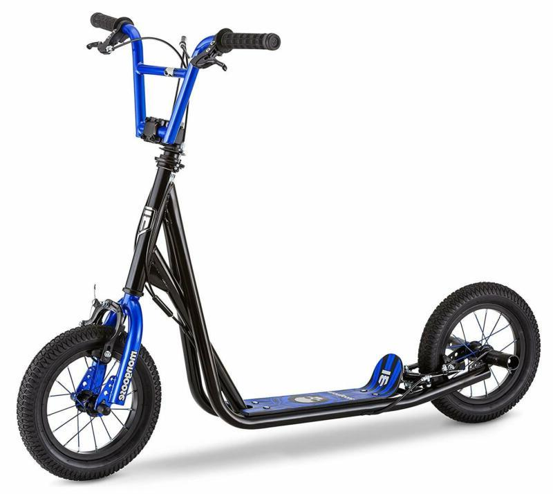 expo scooter featuring front and rear caliper