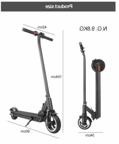 Folding Electric Scooter 250W Aluminum Portable City E-Scooter
