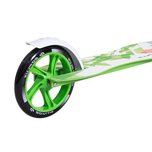 Goplus Folding Kick 2 Big PU Wheels Glider Adjustable Height w/ Kickstand Kids, Capacity