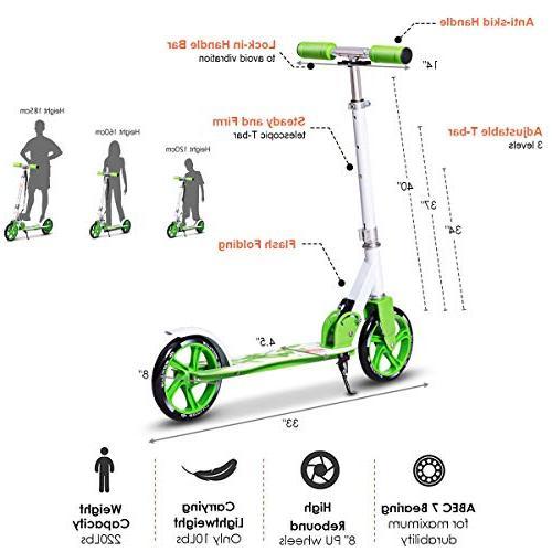 2 Wheels Kickstand Capacity