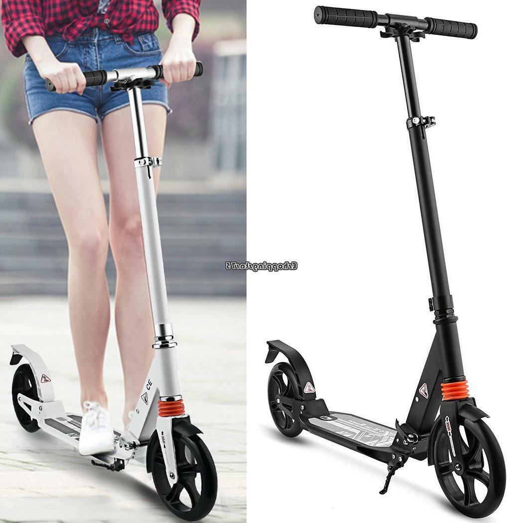folding kick scooter sport portable adjustable ride