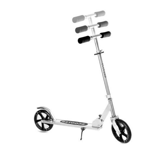 Folding Kick Portable Adjustable Ride