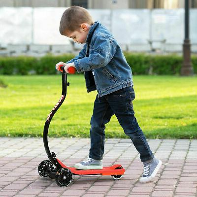 Folding Kids Kick C Shape Anti-Collision PU Wheels Adjustable