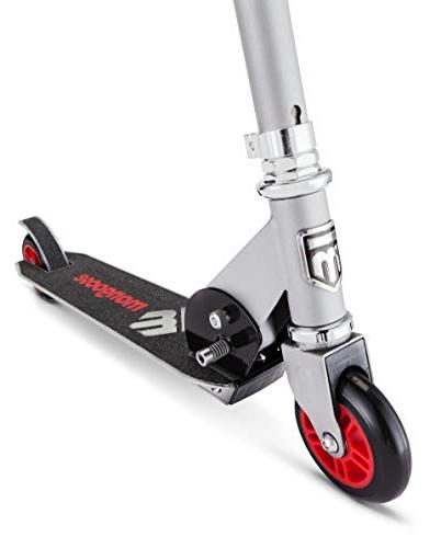 Mongoose Force 1.0 - Gray/Red Silver/Red