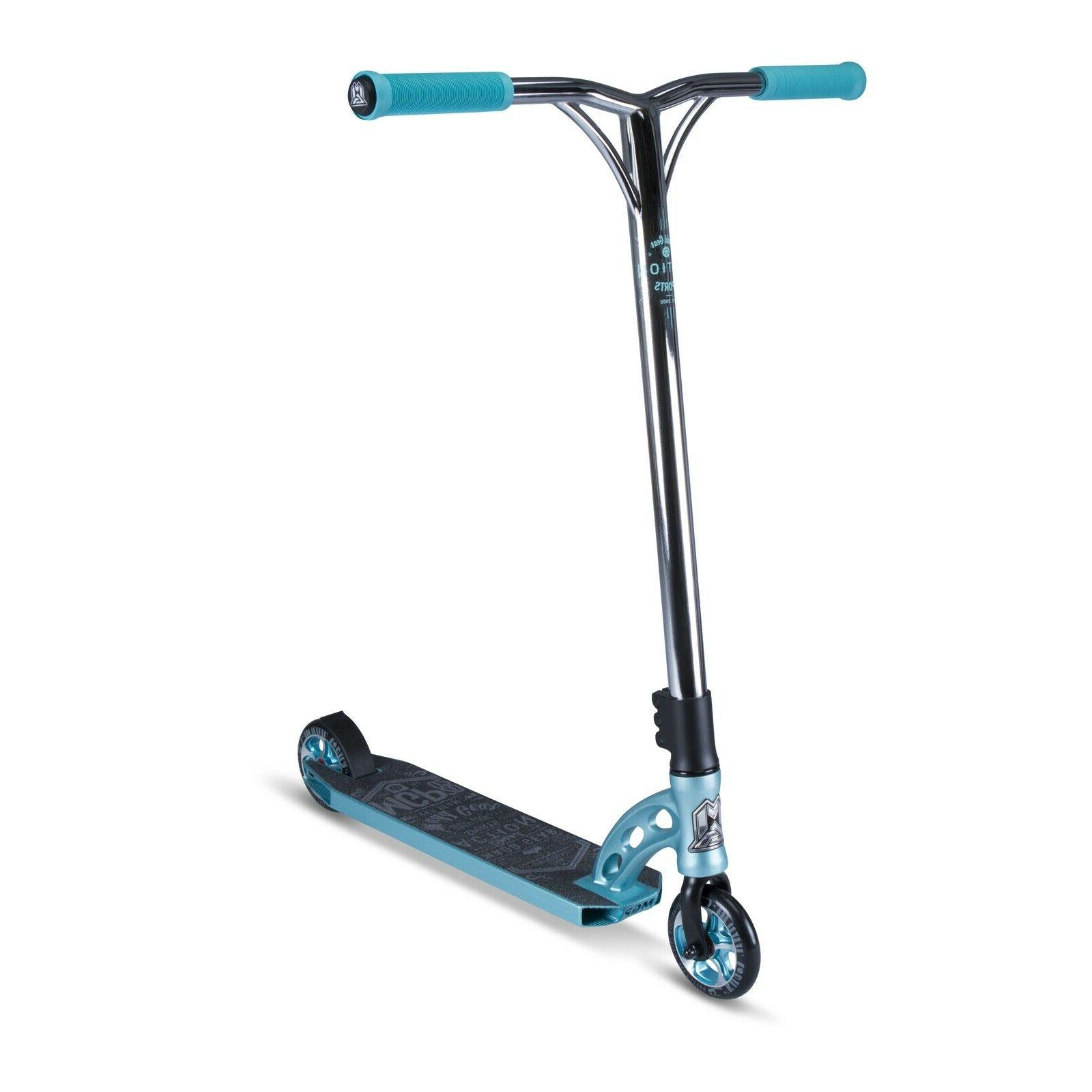 gear vx7 team scooter teal forged alloy