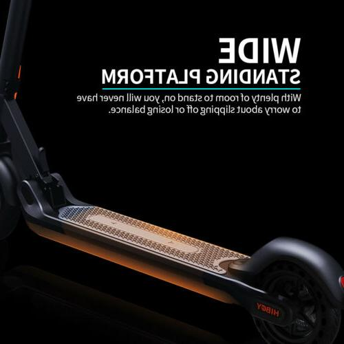 Hiboy MAX 17 Miles 18.6 MPH Electric Scooter Braking