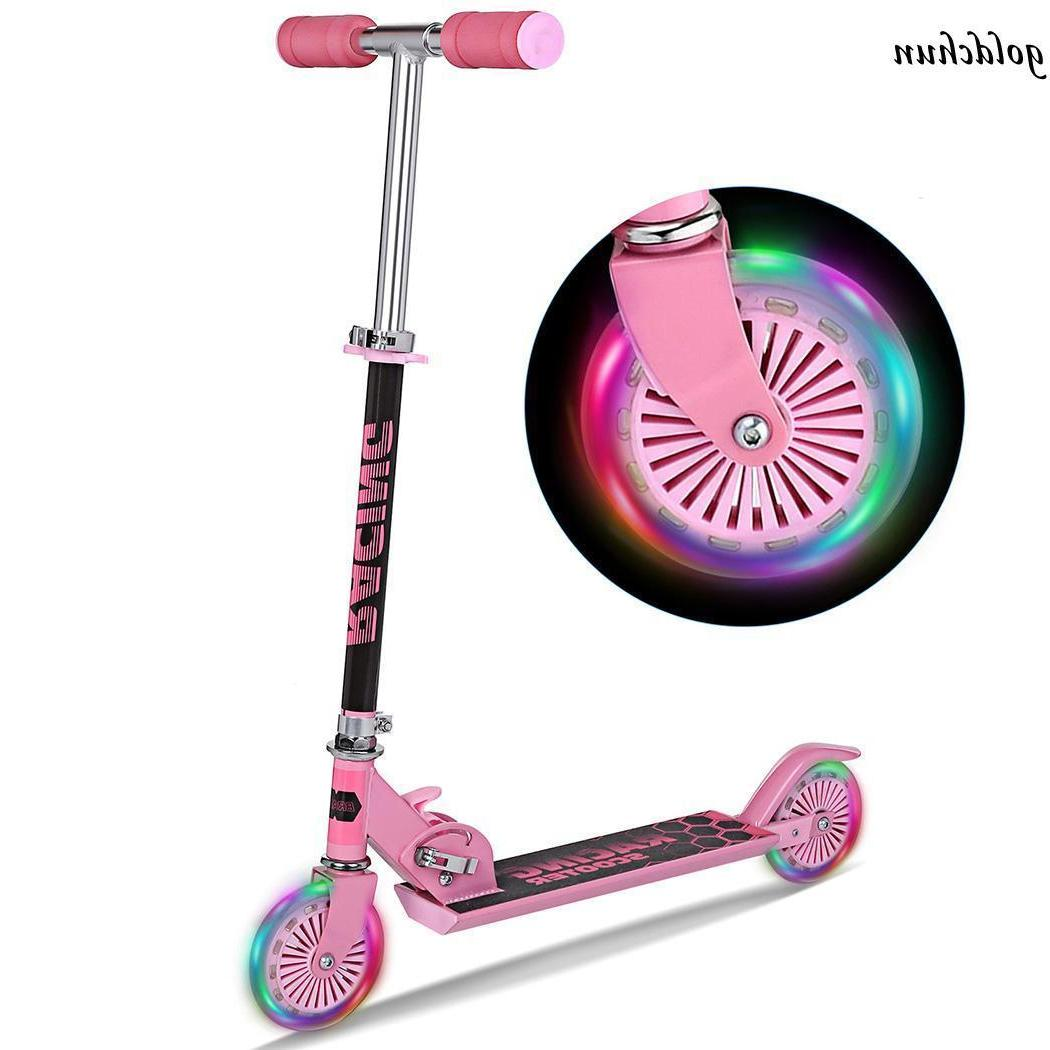 kick scooter for kids deluxe aluminum 2