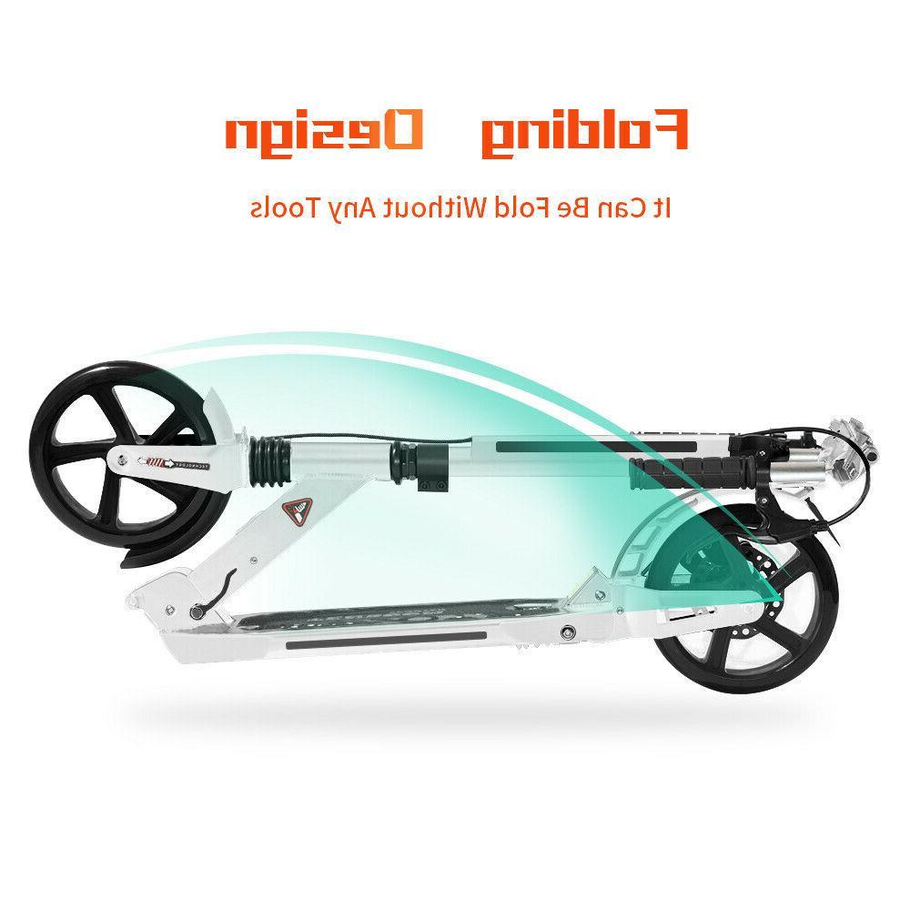 Kick Scooter Lightweight Wheel Foldable Kids Ride Fun