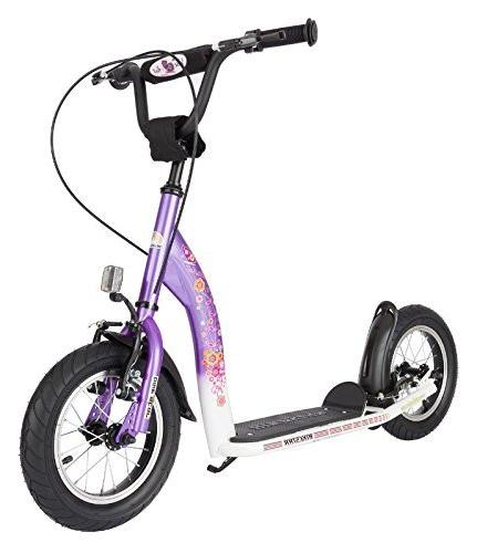 BIKESTAR Safety Sport Kick Kids with and Age Children | Edition with Inch | & White