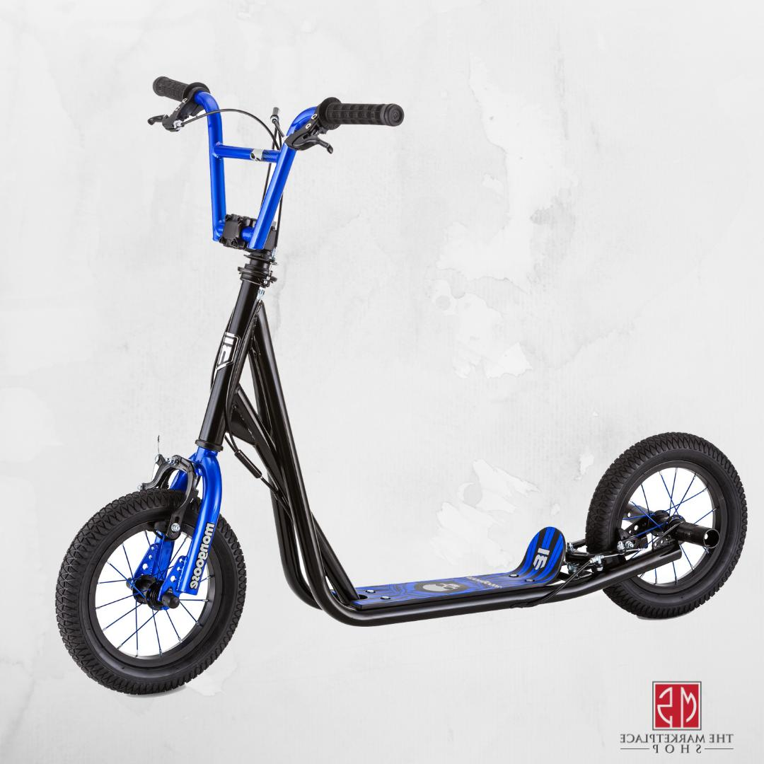 Kick Wheel Scooter Mongoose Scooters Inflatable Multiple Colors