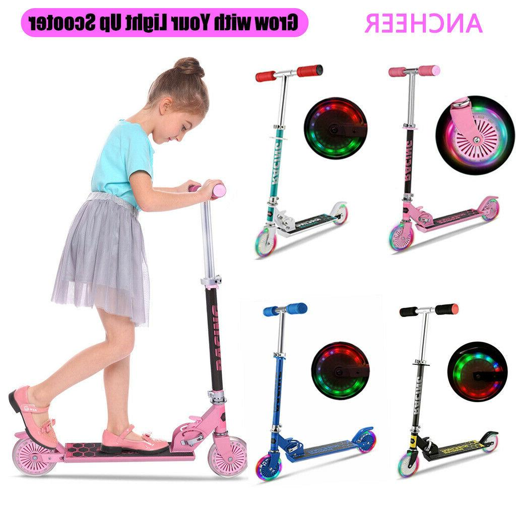 KIds Scooter for Kids Deluxe Aluminum 2 Wheels Glider with L