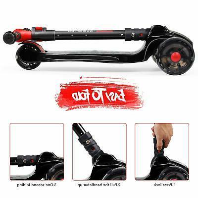 Kid Kick Deluxe 3-12 Adjustable & Boy 3 Wheels