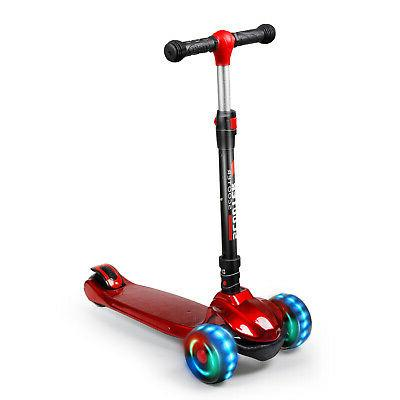 Kid Scooter Deluxe Age 3-12 Adjustable Girl 3
