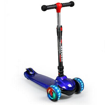 Kid Deluxe For Age 3-12 Adjustable Girl 3 Wheels